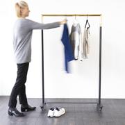 Rollbarer Kleiderständer 'Bukto' in Varianten