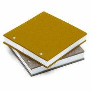 Notizbuch mit Filzeinband