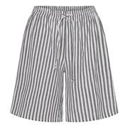 Baumwoll-Shorts mit Streifen