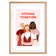 Girlpower: Bild 'Strong together'