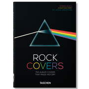 Buch 'Rock Covers. 40th Anniversary Edition'