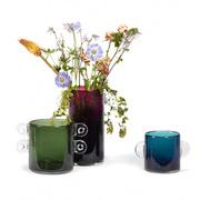 Glas-Vase 'Wind & Fire'