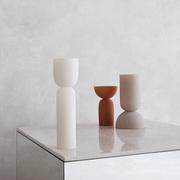 Objekthafte Vasen 'Dual'
