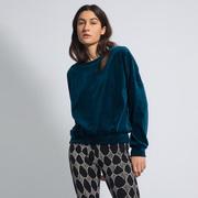 Längerer Samt-Pullover von 'Komana' in Farben