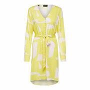 Für Frühlingsgefühle: Frisches Print-Kleid