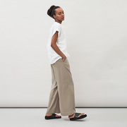 Relaxed pants from 'Maska' in Black or Sage Green