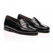 Penny Loafer von 'G.H Bass' in Black oder Wine