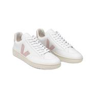 V-12 Sneaker von 'Veja' in Weiss mit Rosa