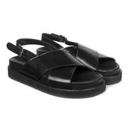 Bequem & cool: Fussbett-Sandalen von 'Angulus'