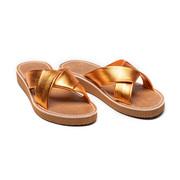 Slipper-Sandale von 'Bold matters' in Kupfer