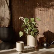 Minimalistischer Pflanzentopf 'Bau'