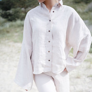 Shirt Nashira von 'Sun + Her' in blush