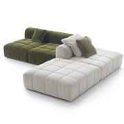 Element ohne Armlehne zum Sofa 'Strips'
