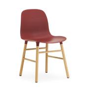 Einzelstück: Stuhl 'Form' in Holz