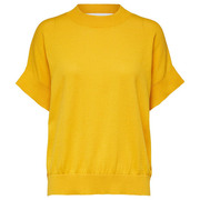 Statement: Frühlings-Strickshirt in Citrus
