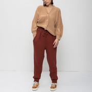 Baumwoll-Strickhose von 'Oat Ava' in Rust