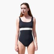 Puristisch & sporty: Badeanzug 'Ninka' von Volans