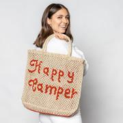 Natürlicher Shopper 'Happy Camper'