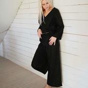Hose Merope von 'Sun + Her' in Black