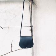 Artisanale Satteltasche aus Leder