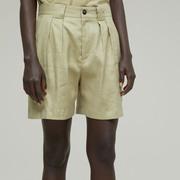 Entspannte Leinenmix-Shorts von 'Closed'