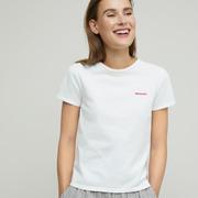'Closed'-T-Shirt mit Statement-Stickerei