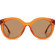 Grosse Sonnenbrille 'Ellis Acetate' in Anise
