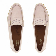 Einzelpaare: 'Easy Penny Loafer' in beigem oder rosa Wildleder