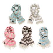 Rothirsch striped scarf farben 1