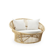 'Love Nest' aus Rattan