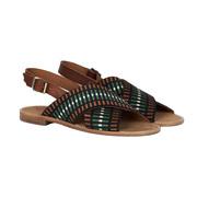 Eklektische Sandalen in Grösse 38