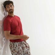 Für Ihn: Baumwoll-Shirt in Rot von 'Zimmerli'