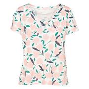 Baumwoll-T-Shirt mit Print von 'Des Petits Hauts'