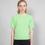Strick-Shirt von 'Franziska Lüthy' in Etheral Green