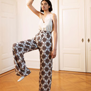 'Holiday Trousers' mit Mosaikprint von Komana