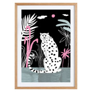 Illustration 'Cheetah and jungle'