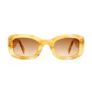 Viu-Sonnenbrille 'The Posh' in Yellow Havana Shiny