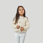 Mini 'Preila' Cardigan für Kids in Sea Salt