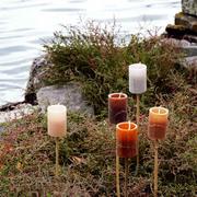 3er Set Kerzen-Fackeln