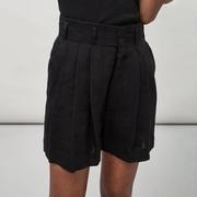 Leinen-Shorts von 'Maska' in Black