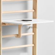 Schreibtisch für Sprossenwand