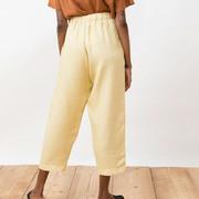 Nachhaltige Leinen-Culotte in Farben