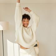 Nachhaltiger Strick-Sweater 'Delčia'
