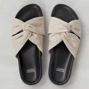 Slide-Sandale von 'Closed' aus Leder