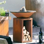 Grill-Outdoorküche 'Classic' mit Ablage