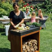 Kleine Grill-Outdoor-Küche 'Butcher Block 90'