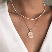 Zartschöne Pearl-Halskette von 'World of Josephine'