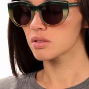 Sonnenbrille 'Pacifica Green' mit Farbverlauf