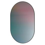 Ovales Spiegel-Kunstobjekt