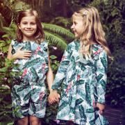 Kids-Jumpsuit von 'Mimi + Bart' mit Amazonas-Print